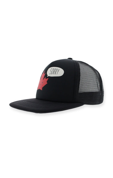 "Canada ""Sorry"" Youth Mesh Back Caps"
