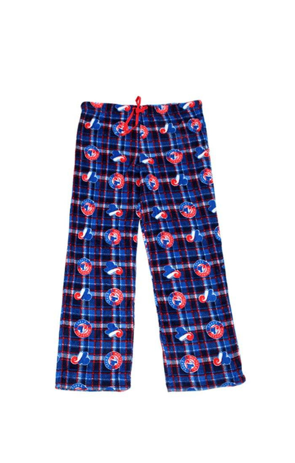 MLB Expos Navy Fleece Lounge Pants - BUWU