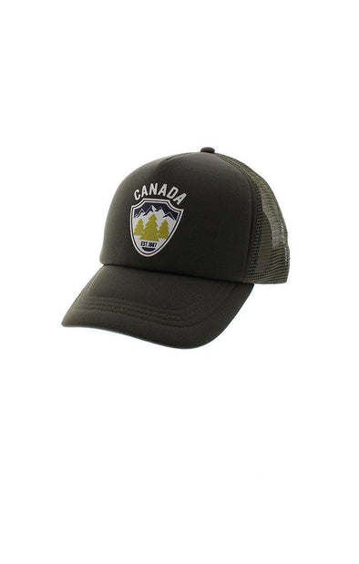Canada Forest Mesh Back Cap
