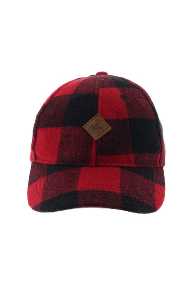 RCMP Adult Plaid Baseball Cap - BUWU