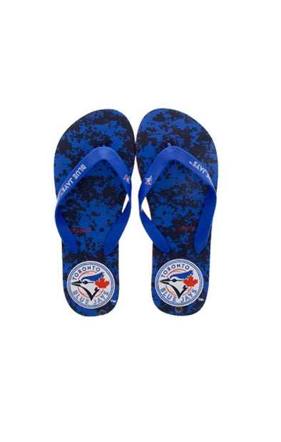 MLB Blue Jay Men's Navy Flip Flops