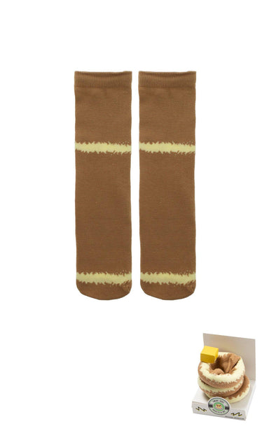 Womens Pancake Socks