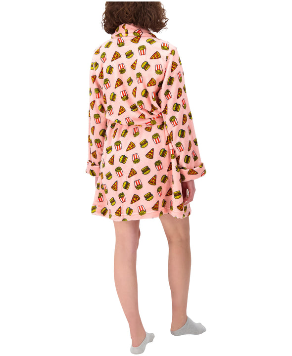 Pizza Foodie Plush Robe