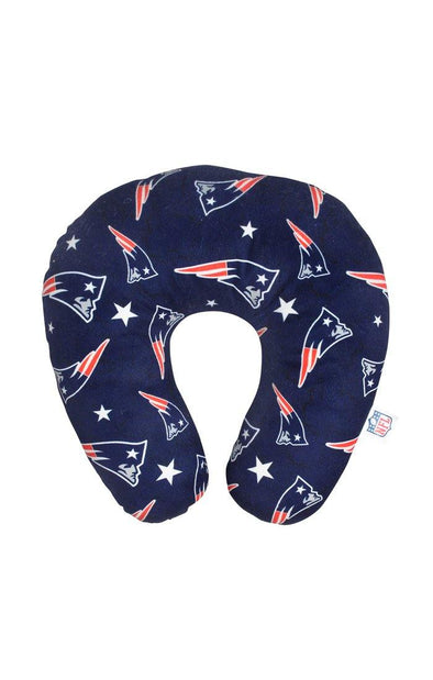 NFL Patriots Travel Fleece Travel Pillow