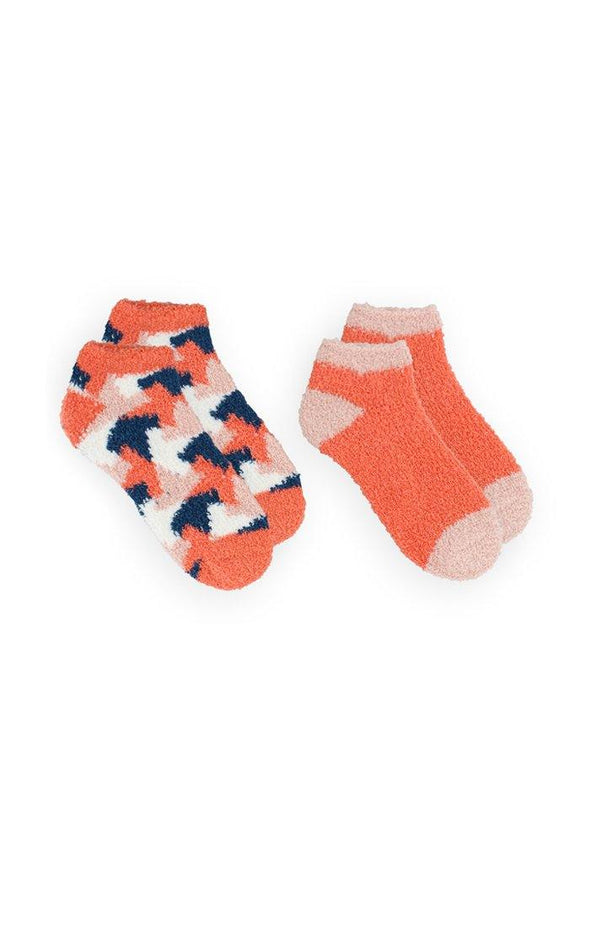 Women's 2PK Softie No Show Socks - BUWU