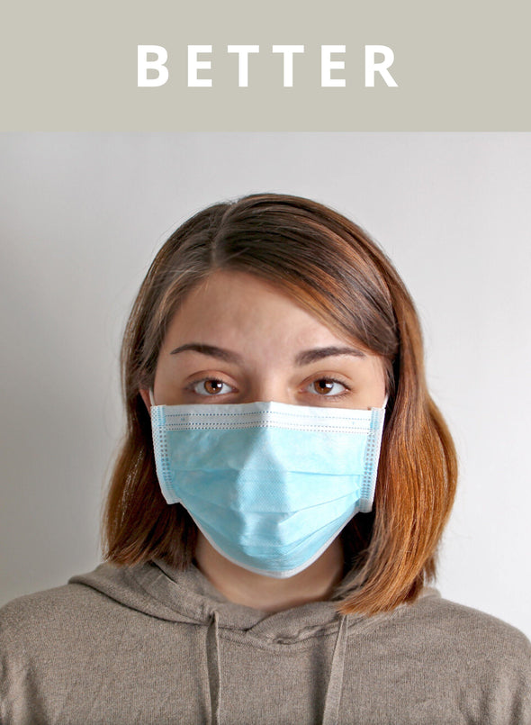 BETTER - 3-PLY Surgical Mask ASTM Level 1 - BUWU
