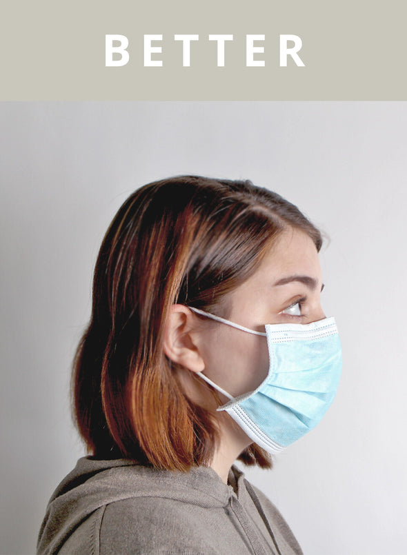 BETTER - 3-PLY Surgical Mask ASTM Level 1