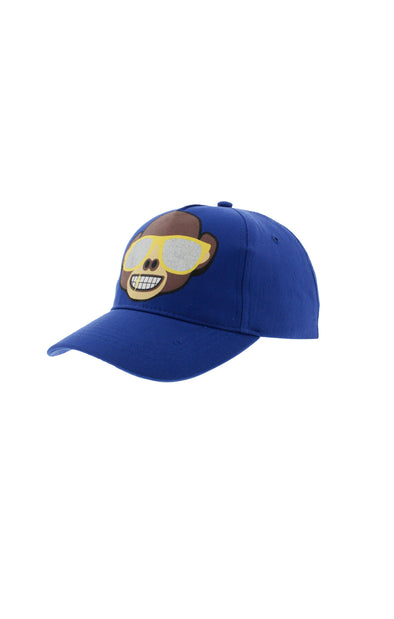 Emoji Kids Blue Sunnies Baseball Cap - BUWU