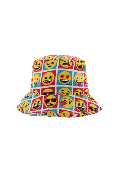 Emoji Kids Sun Burst Bucket Hat