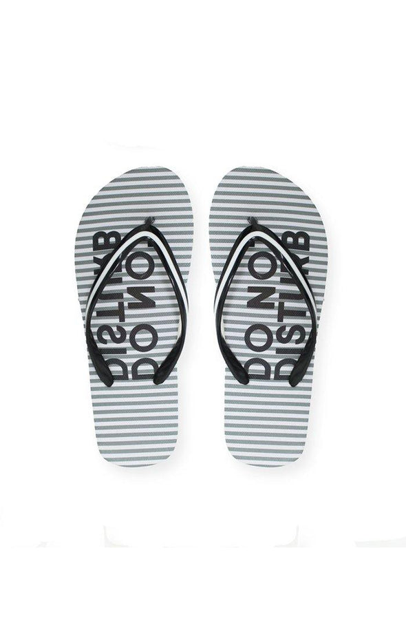 Beach STRIPES Ladies Sublimated Flip Flops