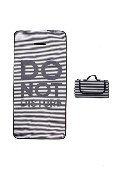Packable STRIPES Beach Towel - BUWU