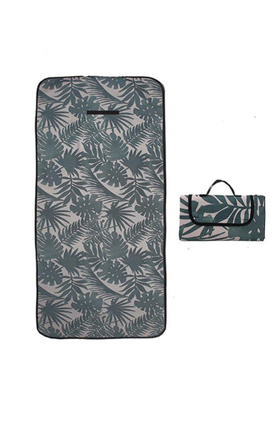 Packable PALM Beach Towel - BUWU