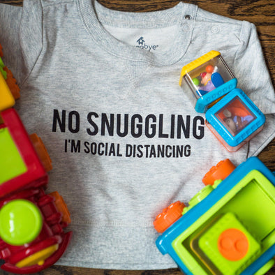 The No Snuggling Toddler Pullover