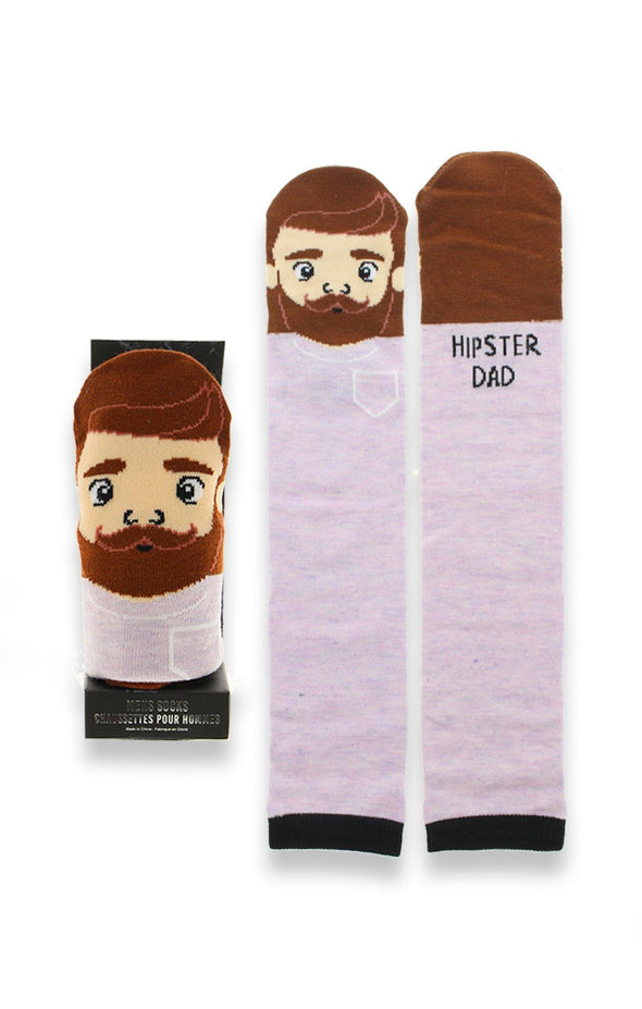 Dad Character Socks