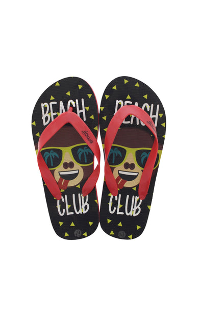 Emoji Kids Beach Club Flip Flops - BUWU