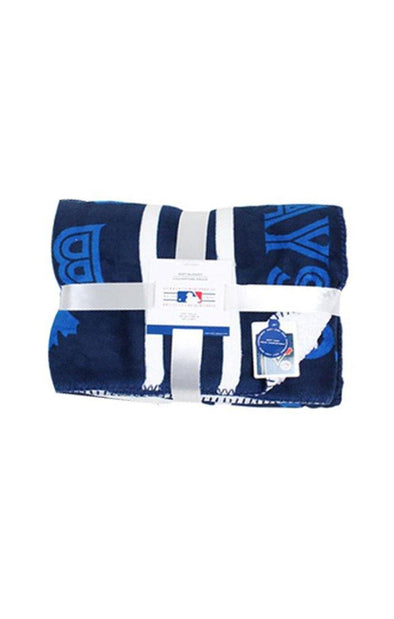 MLB Blue Jays Sherpa Travel Blanket - BUWU