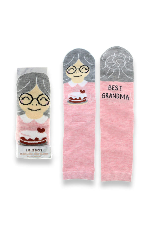 Mom Character Socks