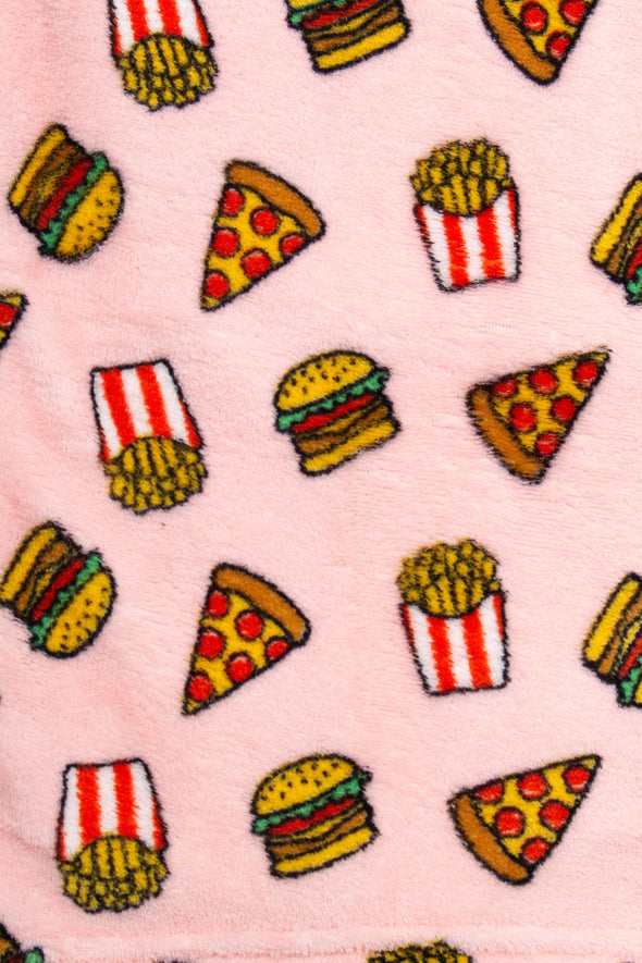 Pizza Foodie Plush Pajama Pants