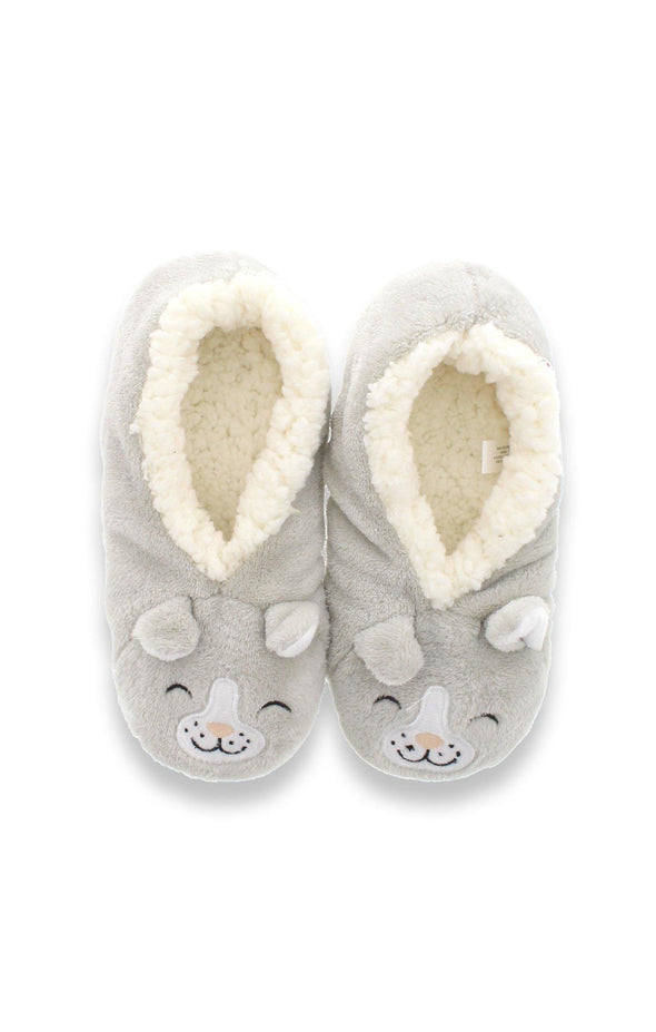 Cat 3-D Plush Slippers