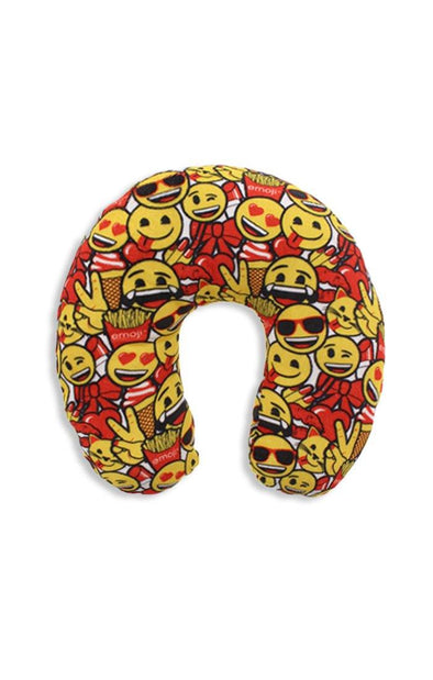 Emoji Smiley Travel Pillow