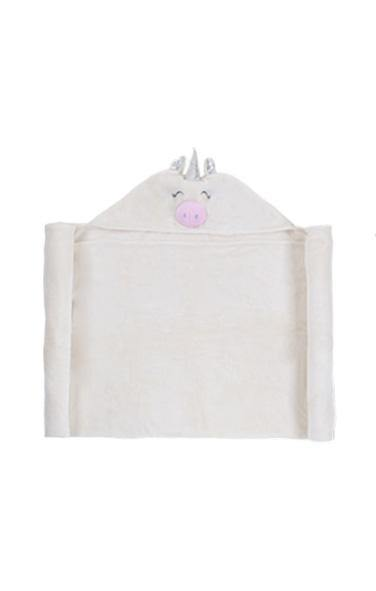 Hooded Critter Plush Blankets