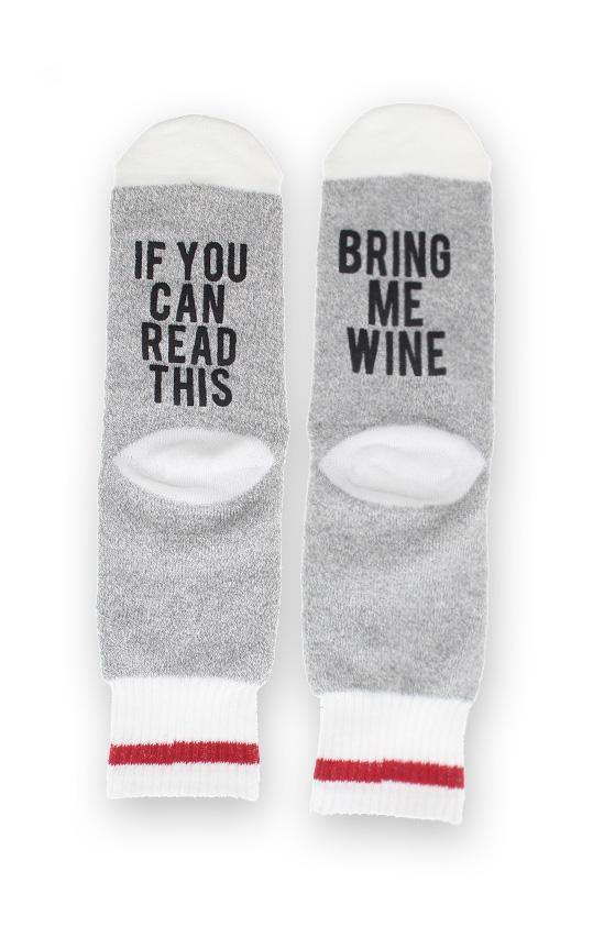 If you can read this... you need these socks