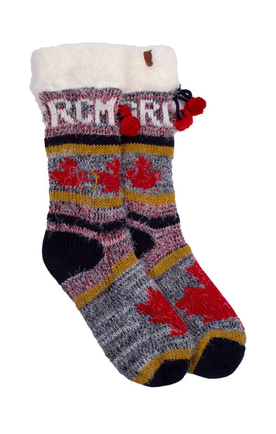 RCMP Lounge Ladies Sherpa Socks