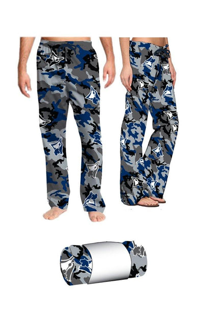MLB Blue Jays Camo Fleece Lounge Pants - BUWU