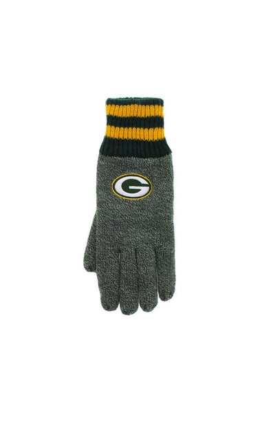 NFL Packers Men's Thermal Gloves - BUWU