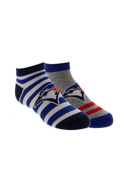 MLB Blue Jays Kids 2-Pack Ankle Socks