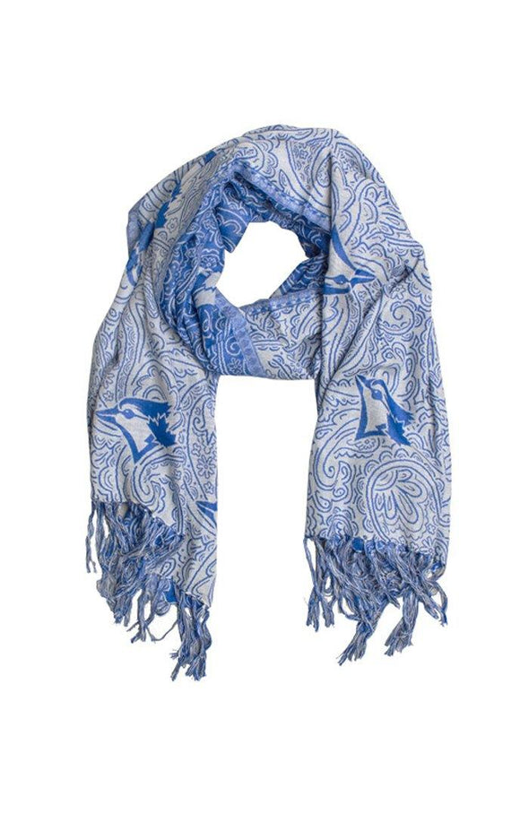 MLB Blue Jays Light Blue Tapestry Scarf - BUWU