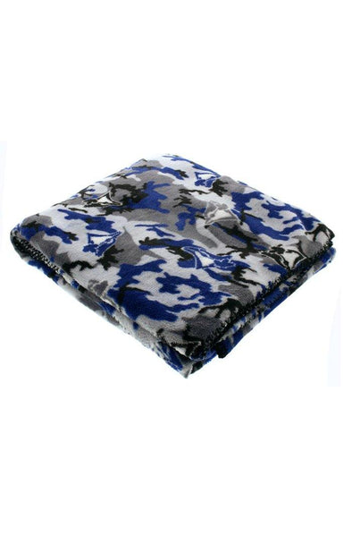 MLB Blue Jays Camo Travel Blanket