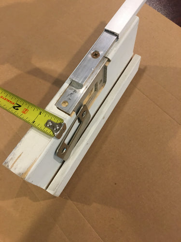 Door Guard TM Sidelited door unit RTO7508-2 (double sidelite) for an 8 foot door with a 1 inch wide mull post  (Therma Tru continuous sill system)