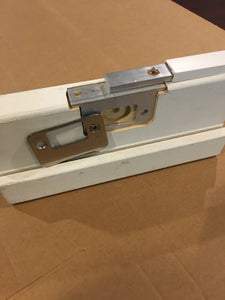 Door Guard TM Sidelited door unit RTO7508-1 (single sidelite) for an 8 foot door with a 1 inch wide mull post  (Therma Tru continuous sill system)