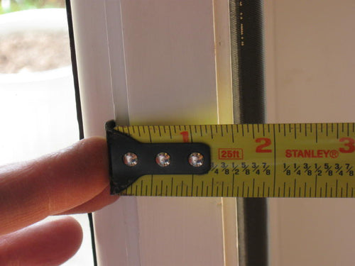 Door Guard TM Sidelited door unit RTO1250-1 (single sidelite) with a 1 1/2 inch mull post (most common)