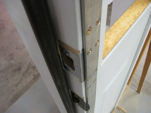 Door Guard TM Sidelited door unit RTO12508-1 (single sidelite) for an 8 foot door, with a 1 1/2 inch mull post (most common)