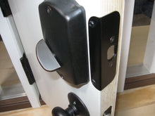Load image into Gallery viewer, Door Guard TM Sidelited door unit RTO12508-1 (single sidelite) for an 8 foot door, with a 1 1/2 inch mull post (most common)