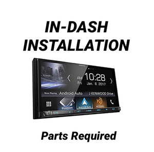 In-Dash DVD/Mechless Receiver Installation (In-Store Only)
