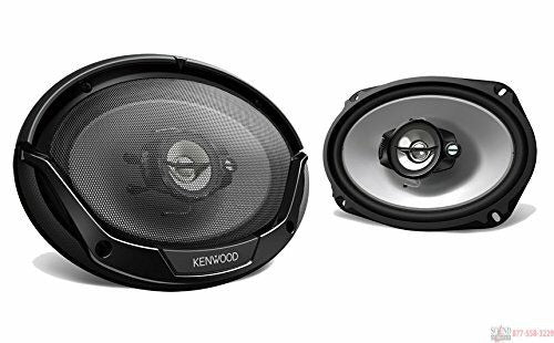 Kenwood KFC 6965 3-way 6x9 Speakers (Pair)