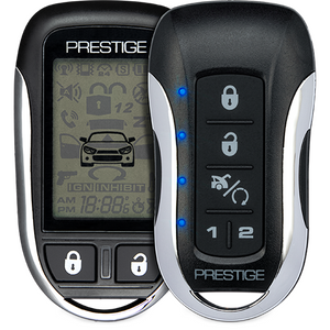 2-Way 5 Button Remote Start with Keyless & Security (installation sold separately)