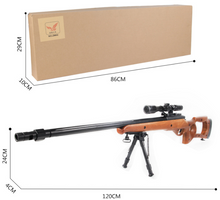 Load image into Gallery viewer, GEL BLASTER SWIFT HAWK JY-702 RIFLE (black only)