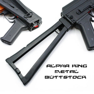 BUTTSTOCK METAL ALPHA KING AK
