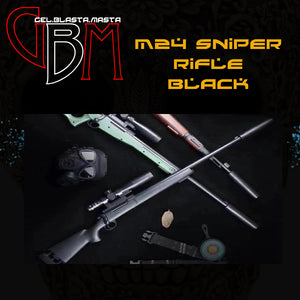 GEL BLASTER M24 BOLT ACTION SNIPER RIFLE (BLACK)