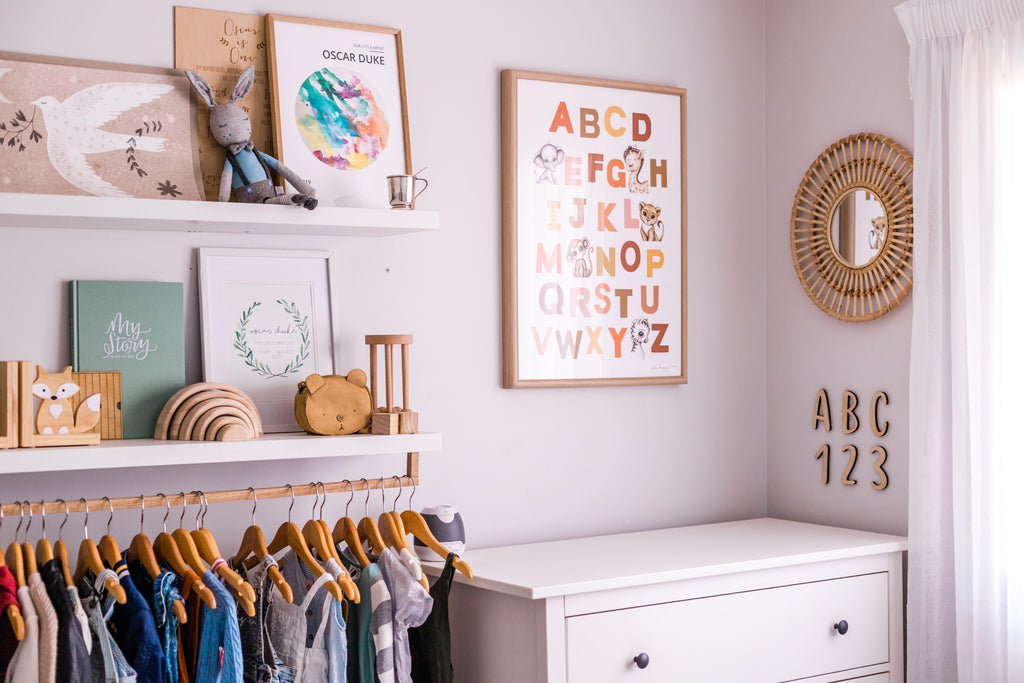 ABC 123 Wall Mate - Ava & Harper co