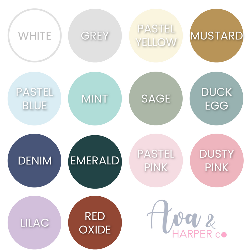 Personalised Round Wall Mate - Ava & Harper co