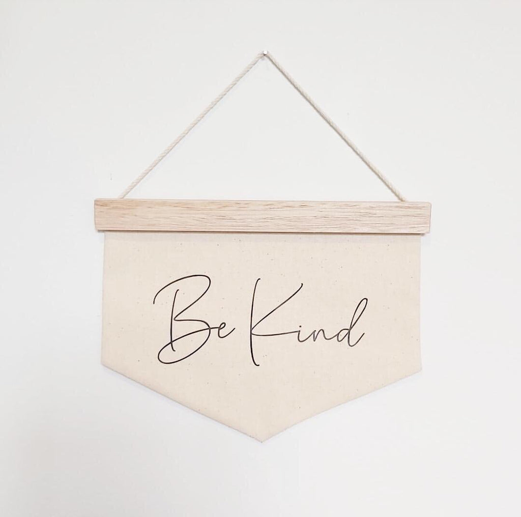 Be Kind Banner - Ava & Harper co