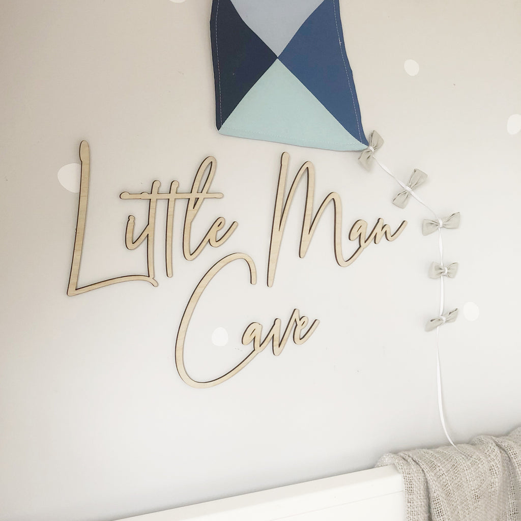 Little Man Cave Wall Mate - Ava & Harper co