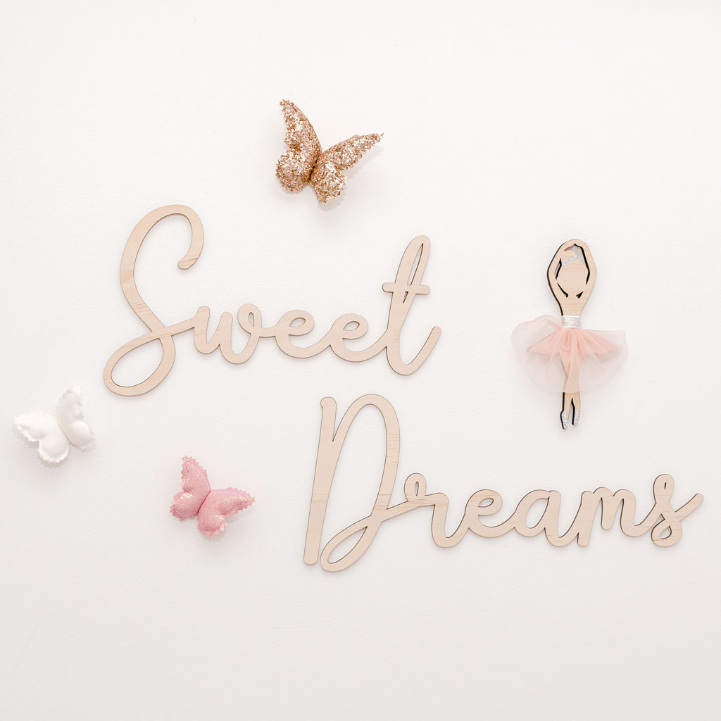 Sweet Dreams Wall Mate 60cm - Ava & Harper co