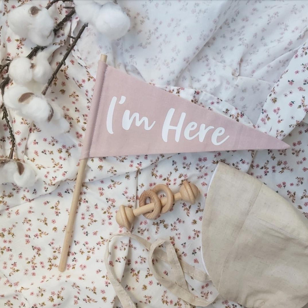 I'm Here Flag - Ava & Harper co