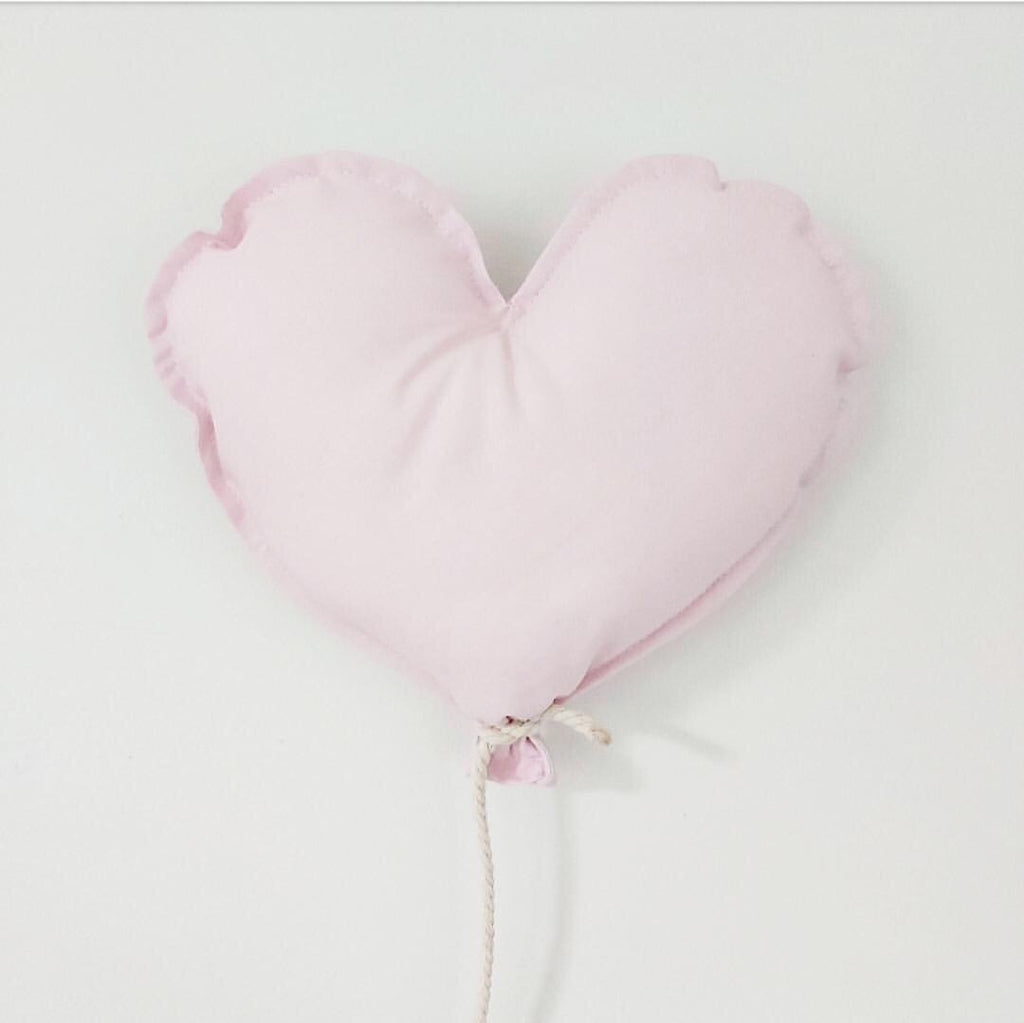 Heart Shaped Fabric Balloon - Ava & Harper co